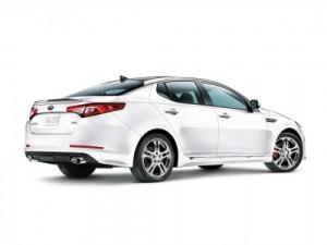 white 2013 Kia Optima Limited SX