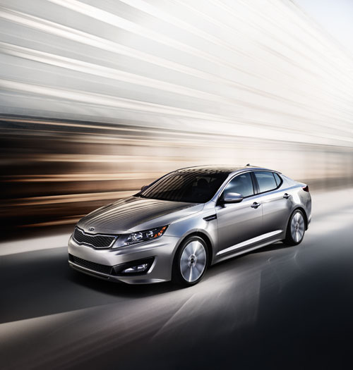 2013 Kia Optima, a symbol of how far Kia's come in nearly 70 years.