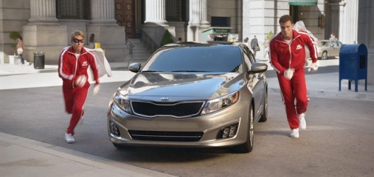 Blake Griffin and Jack McBrayer in new Kia Optima ad