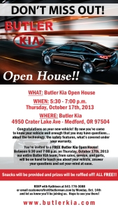 kia open house