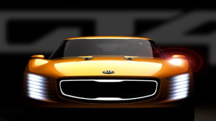 The Kia GT4 Stinger concept will debut at the North American International Auto Show in Detroit, MI.